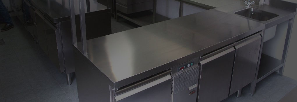 Stainless tables