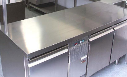 Stainless Steel Restaurant Counter Tops